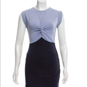 Carven Sleeveless two-toned mini dress, Sz small